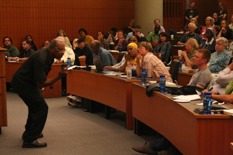 Dr. Perkins teaching