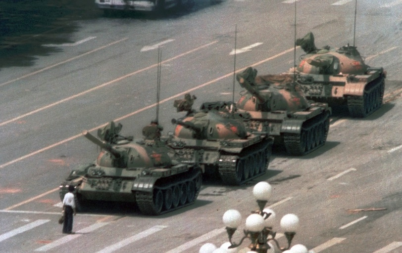 Courage-Tiananmen Square