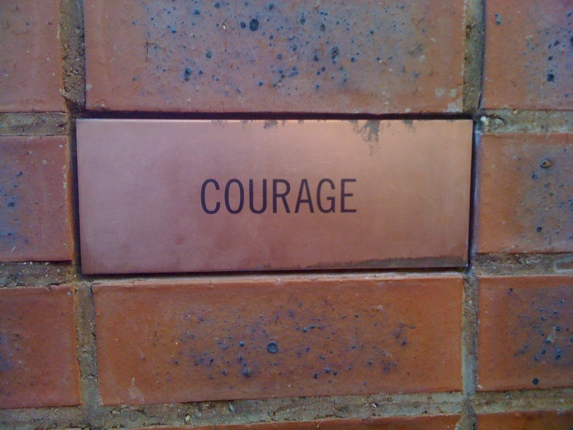 Courage-Bricks