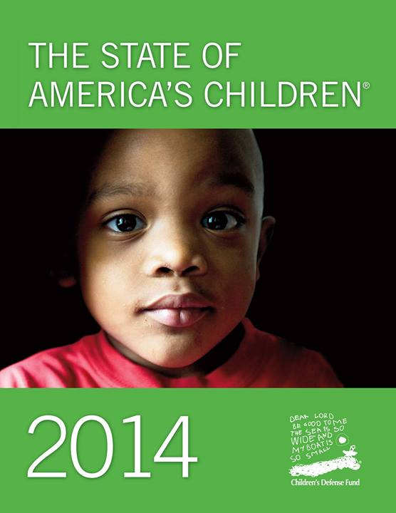 CDF state of american children 2014 2