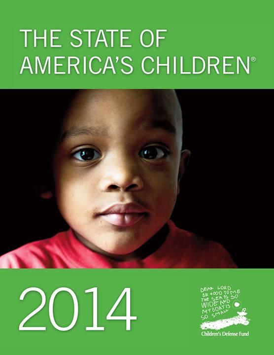 CDF state of american children 2014 2