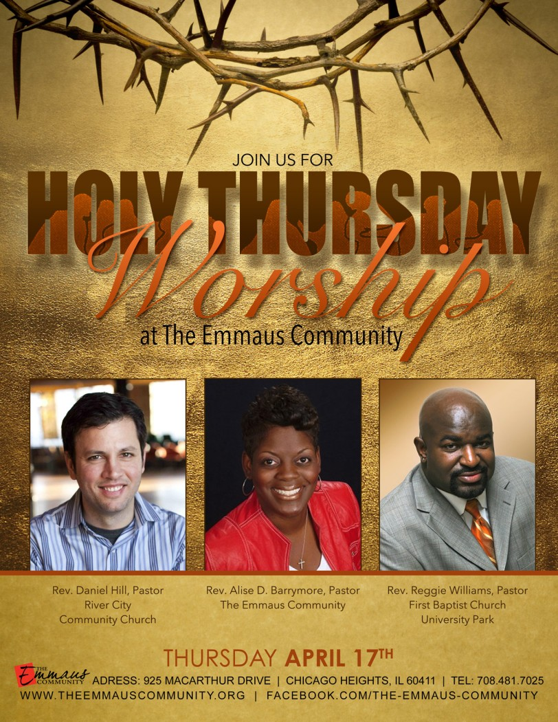 Holy Thursday Flyer