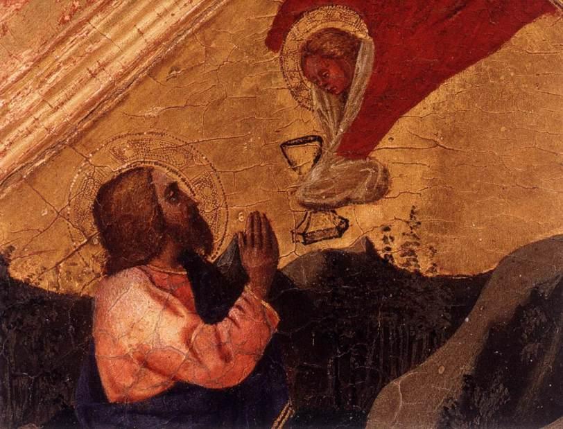 Jesus in Garden 1