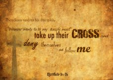 cross - matthew 16